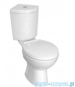 Novoterm Kerra WC Kompakt KR 61 - CORNER system podwójnego spłukiwania 6/3l + deska