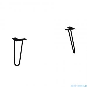 Elita Futuris nogi szafki czarne 20cm 167266