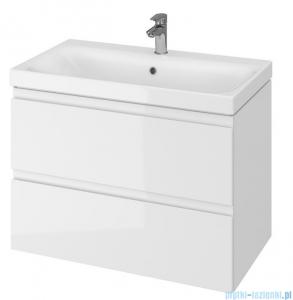 Cersanit Moduo szafka wisząca z umywalką 80x45x62 cm biała S801-221