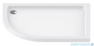 New Trendy Maxima Ultra brodzik asymetryczny posadzkowy prawy 120x85x6cm B-0337/P