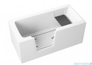 Polimat Vovo obudowa wanny boczna 70cm biała 00278