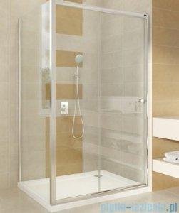 Omnires Bronx drzwi prysznicowe 120x185cm szkło przezroczyste S-2050120