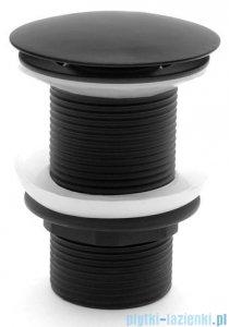 Rea korek umywalkowy klik-klak bez przelewu czarny REA-A1004