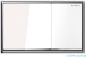 Geberit Omega60 Przycisk uruchamiający przedni biały 115.081.SI.1