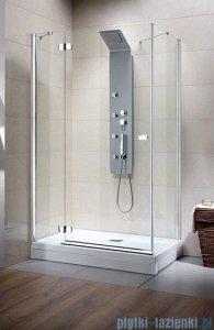 Radaway Kabina prysznicowa Fuenta KDJ 90x80 lewa szkło intimato 381049-12L