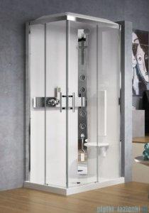 Novellini Glax 3 kabina prysznicowa standard 100x70 prawa srebrny GL3A197DT-1B