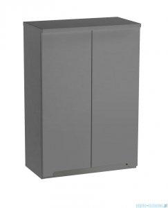 Oristo Silver szafka górna 60x71x25cm szary mat OR33-SG2D-60-4