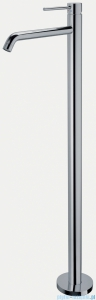 Paffoni Light bateria umywalkowa/wannowa podłogowa 1130 mm chrom LIG031CR