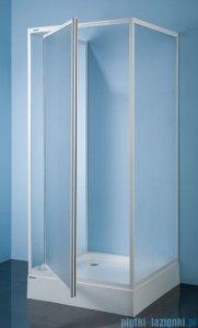 Sanplast kabina przyścienna kwadratowa KT/DJ-c-70 70x70x185 cm polistyren 600-013-1011-01-520