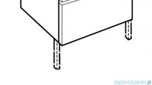 Roca zestaw dwóch nóg A816817339