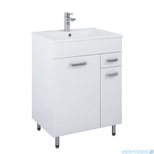 Elita Amigo Set szafka z umywalką komplet 61x82x46cm biały połysk 167173
