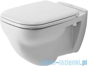 Duravit D-Code miska toaletowa wisząca lejowa Compact 350x480 mm 221109 00 002
