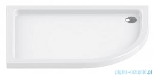 New Trendy Maxima Ultra brodzik asymetryczny posadzkowy lewy 120x85x6cm B-0336/L