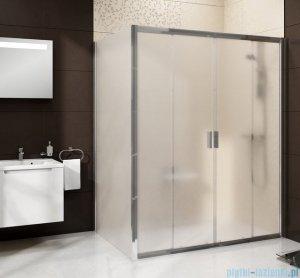 Ravak Blix BLDP4 drzwi prysznicowe 130cm białe grape Anticalc 0YVJ0100ZG