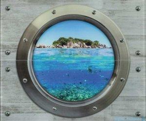 Ceramika Color Modern Wall Wyspa szklany dekor 50x60