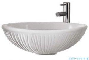 Sanitti Terra umywalka nablatowa 42 cm biały mat TERRA-42-BM