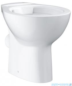 Grohe Bau Ceramic miska WC stojąca bez kołnierza biała 39430000