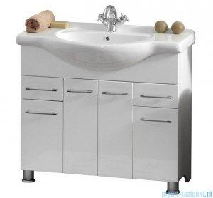 Antado Prima szafka z umywalką 91x33,4x80 biały połysk BFM-140/9 + UCG-95