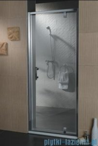 Omnires drzwi prysznicowe 90cm szkło przejrzyste S-90DTR