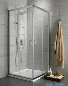 Radaway Premium Plus C Kabina kwadratowa 80x80 szkło grafitowe 30463-01-05N