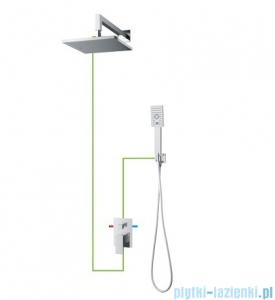 Omnires Fresh podtynkowy zestaw prysznicowy chrom SYSFR10