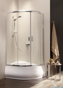 Radaway Premium Plus A Kabina półokrągła 90x90 wysokość 170cm szkło satinato 30401-01-02N