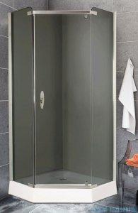 Sea Horse Stylio kabina natryskowa pentagonalna pięciokątna 90x90x190 cm grafit BK502PG+