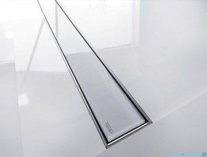 Tece Ruszt prosty ze szkła Tecedrainline 120cm szkło czarne 6.012.92