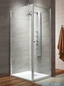 Radaway Eos KDJ kabina prysznicowa 80x100 prawa szkło intimato + brodzik Doros D + syfon 37543-01-12NR