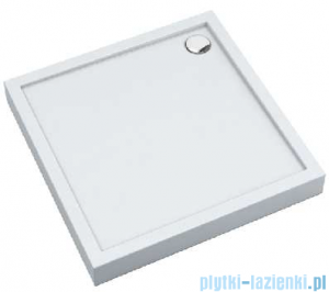 Schedpol Competia New brodzik kwadratowy z SafeMase 100x100x12cm 3.4632