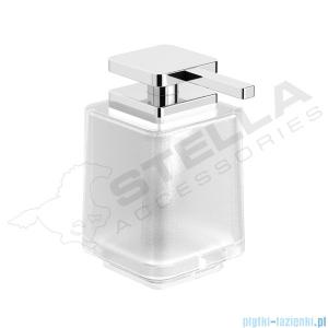 Stella Next dozownik do mydła w płynie bez uchwytu szkło matowe 08423