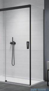 SanSwiss Cadura Black Line ścianka boczna Cast 75x200cm profile czarny mat CAST0750607