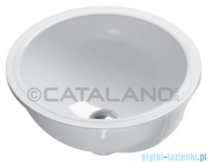 Catalano Sottopiano 40 umywalka podblatowa 40x40 cm biała 1SO4000