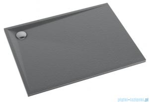 Schedpol Schedline Libra Anthracite Stone brodzik prostokątny 90x80x3cm 3SP.L2P-8090