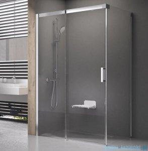 Ravak Matrix MSDPS kabina prysznicowa 100x80cm lewa satyna transparent 0WLA4U00Z1