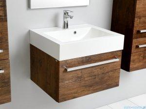 Antado Spektra szafka z umywalką, wisząca 33,5x60x50 stare drewno 649101/617209