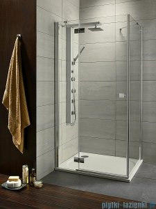 Radaway Almatea Kdj Gold kabina prysznicowa 90x75 lewa szkło przejrzyste 32147-09-01NL