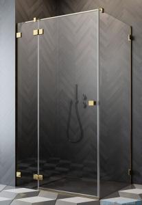 Radaway Essenza Pro Gold Kdj kabina 80x70cm lewa szkło przejrzyste 10097080-09-01L/10098070-01-01