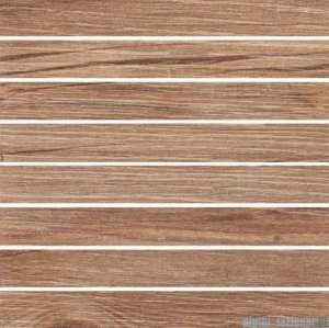 Ceramika Color Board brown mozaika ścienna 25x25