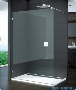 SanSwiss Pur PDT4 kabina Walk-in 30-100cm profil chrom szkło przezroczyste PDT4GSM11007