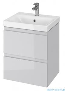 Cersanit Moduo szafka wisząca z umywalką 50x40x62 cm szara S801-219