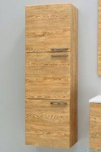 Antado Sycylia Szafka wisząca 3-drzwiowa 45x30x135 świerk tatrzański KTS-163-66