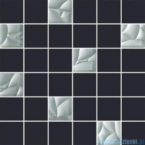 Paradyż Esten grafit/silver mix mozaika 29,8x29,8