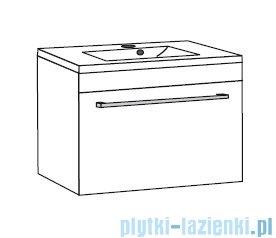 Antado Spektra ceramic szafka z umywalką 62x43x40 dąb samba FDF-AT-442/65GT-62+UCS-AT-65
