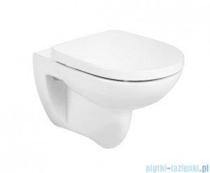 Roca Debba Round Rimless miska wc + deska wolnoopadająca Supralit A34H996000