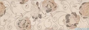Ceramika Color Roca Flower dekor ścienny 25x75