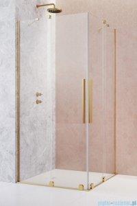 Radaway Furo Gold KDD kabina 100x90cm szkło przejrzyste 10105100-09-01L/10105090-09-01R