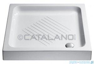 Catalano Base brodzik 80x80x10 cm ceramiczny biały 1808000