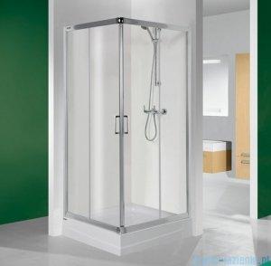 Sanplast kabina narożna kwadratowa 90x90x190 cm KN/TX4-90 szkło przezroczyste 600-271-0030-38-400