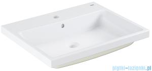 Grohe Cube Ceramic umywalka 60x50 cm wpuszczana w blat PureGuard biała 3947900H